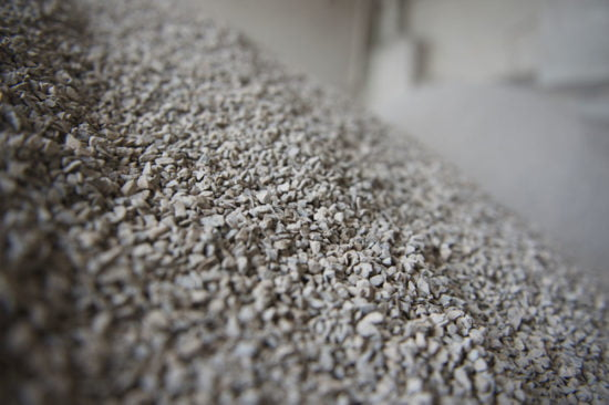 Limestone filler industrial mineral