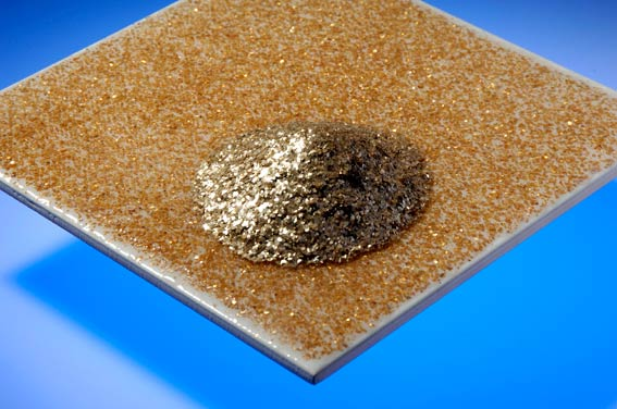 Ceramic industry - Glitter effects on wall and floor tiles | LKAB