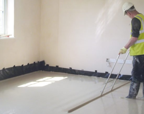 Gypsol Rapide is our first fast drying Anhydrite Screed
