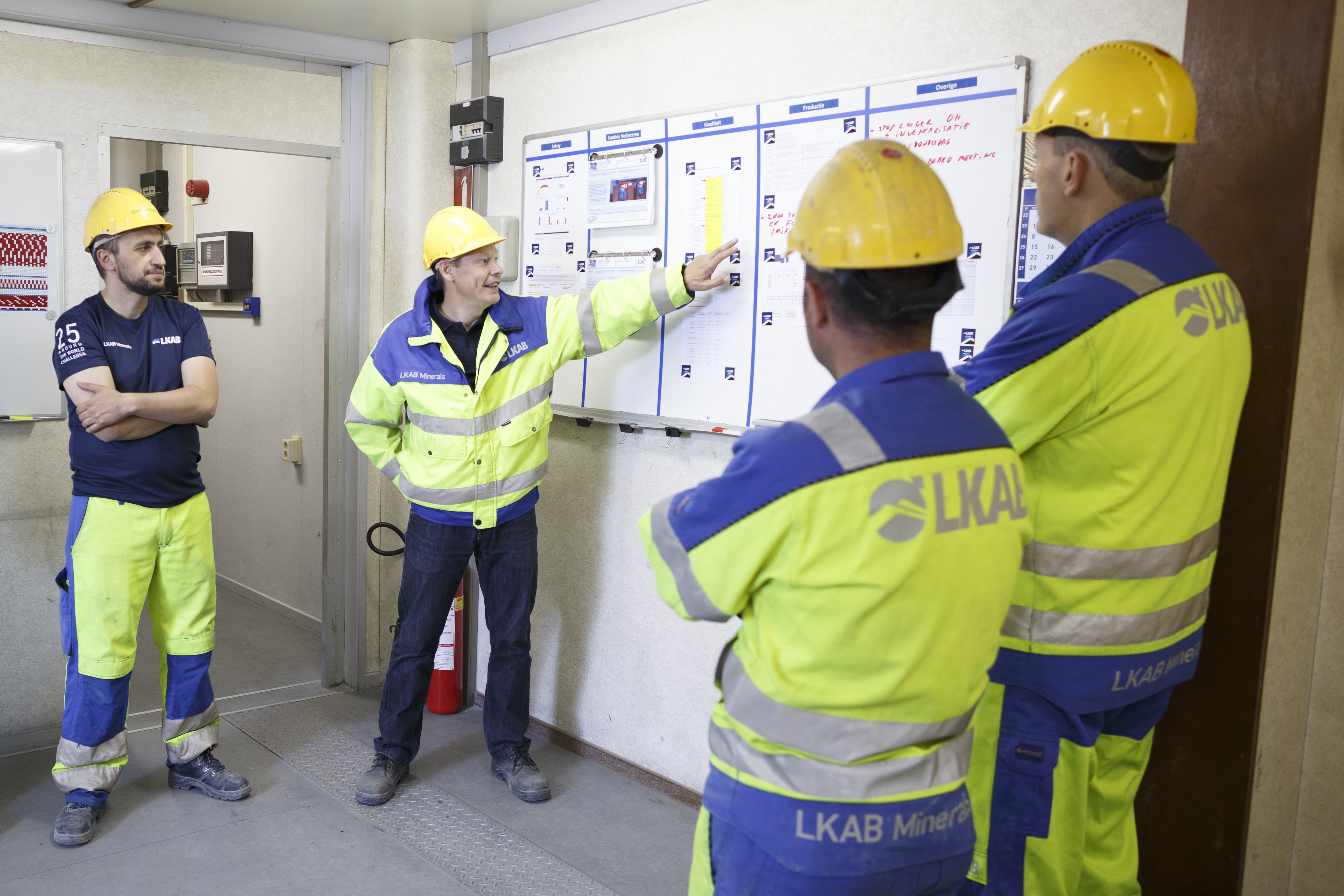 Work at LKAB Minerals employees