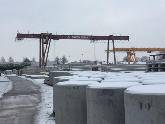 High Density Concrete Nuclear Waste Containers