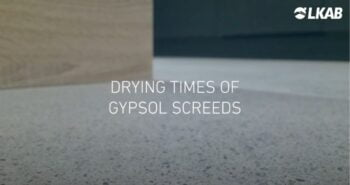 drying video screed