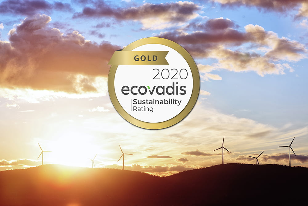 Gold medal in sustainability